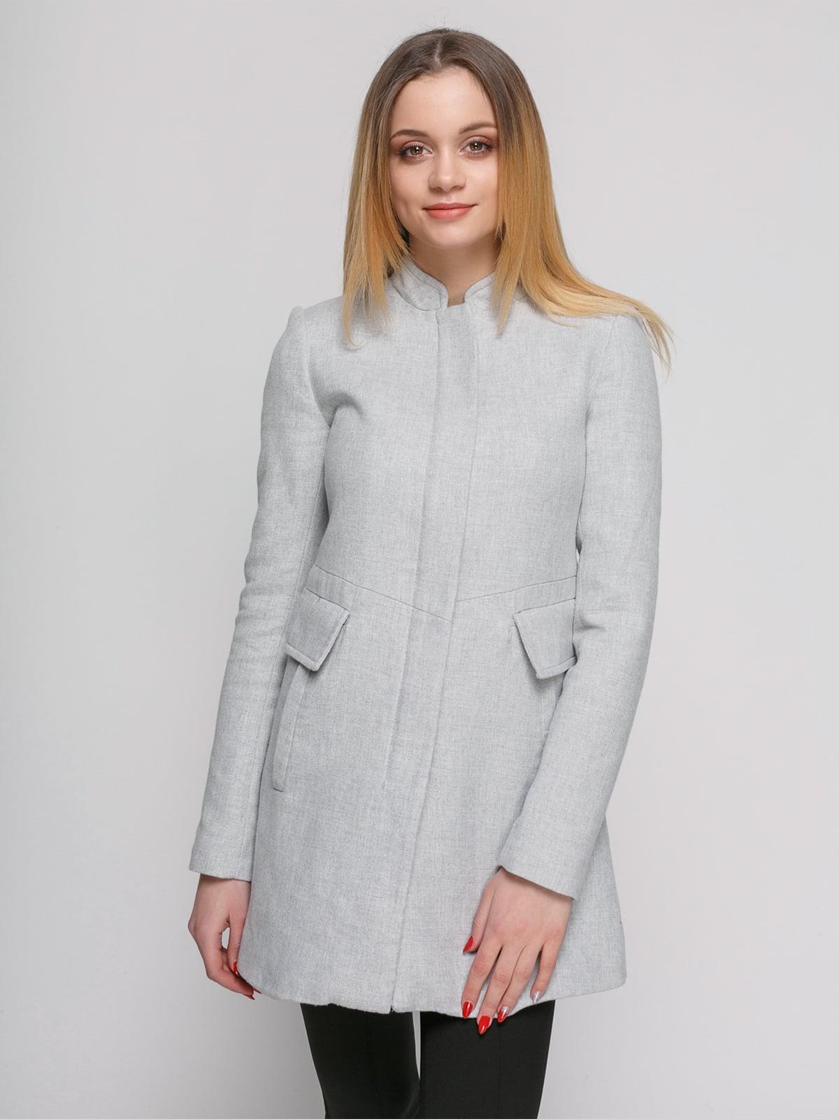 Пальто сіре | 4876846