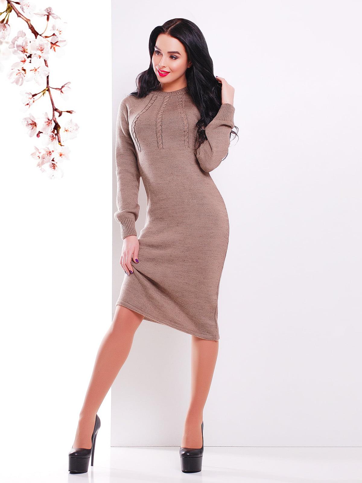 Сукня кавового кольору   4906619