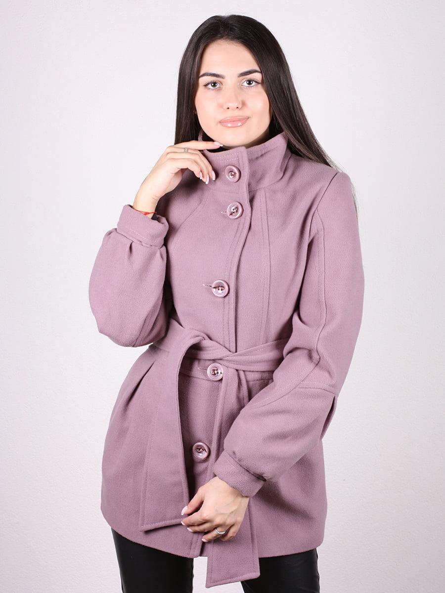 Пальто цвета пудры | 4903724 | фото 4
