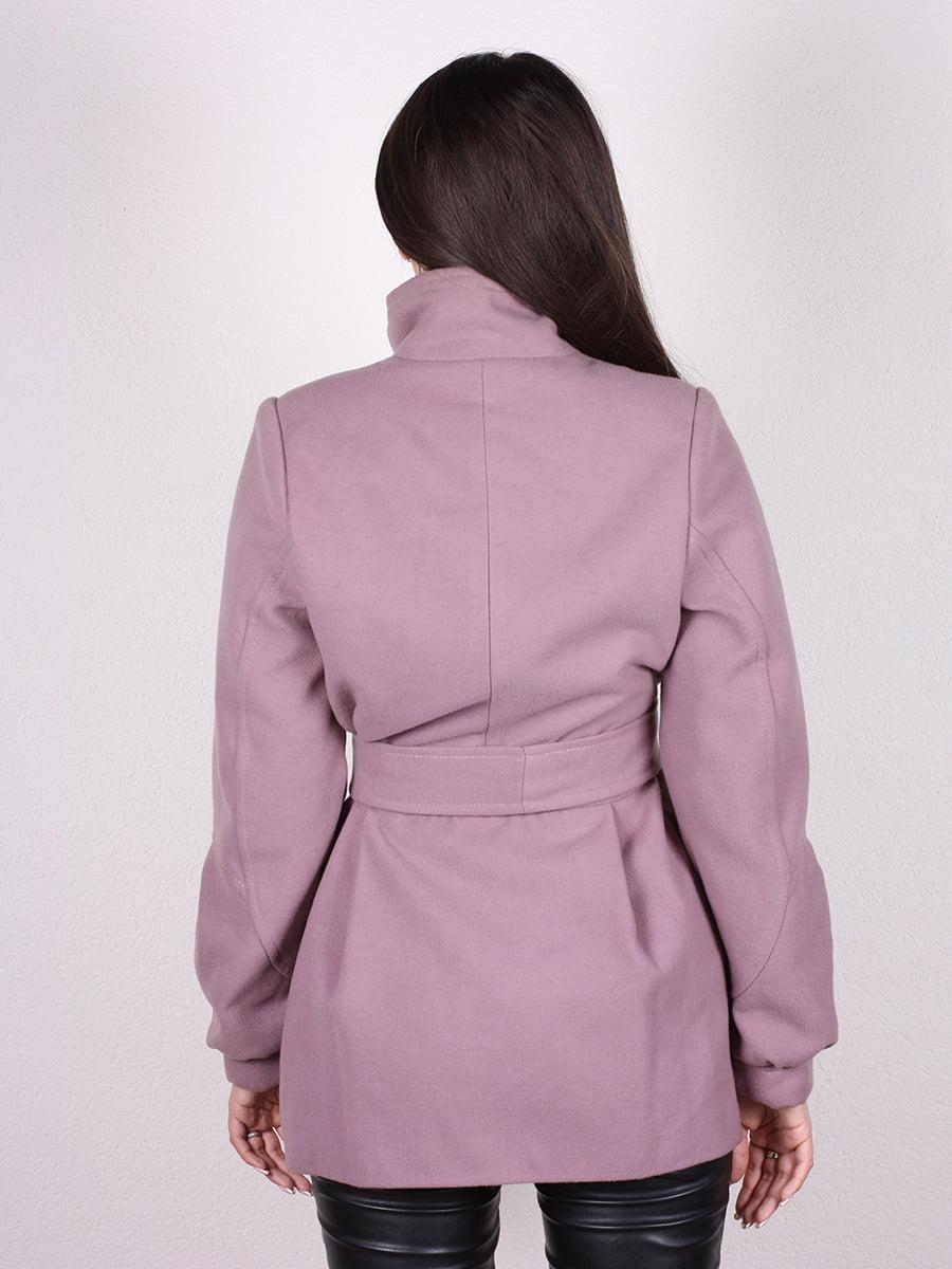 Пальто цвета пудры | 4903724 | фото 6