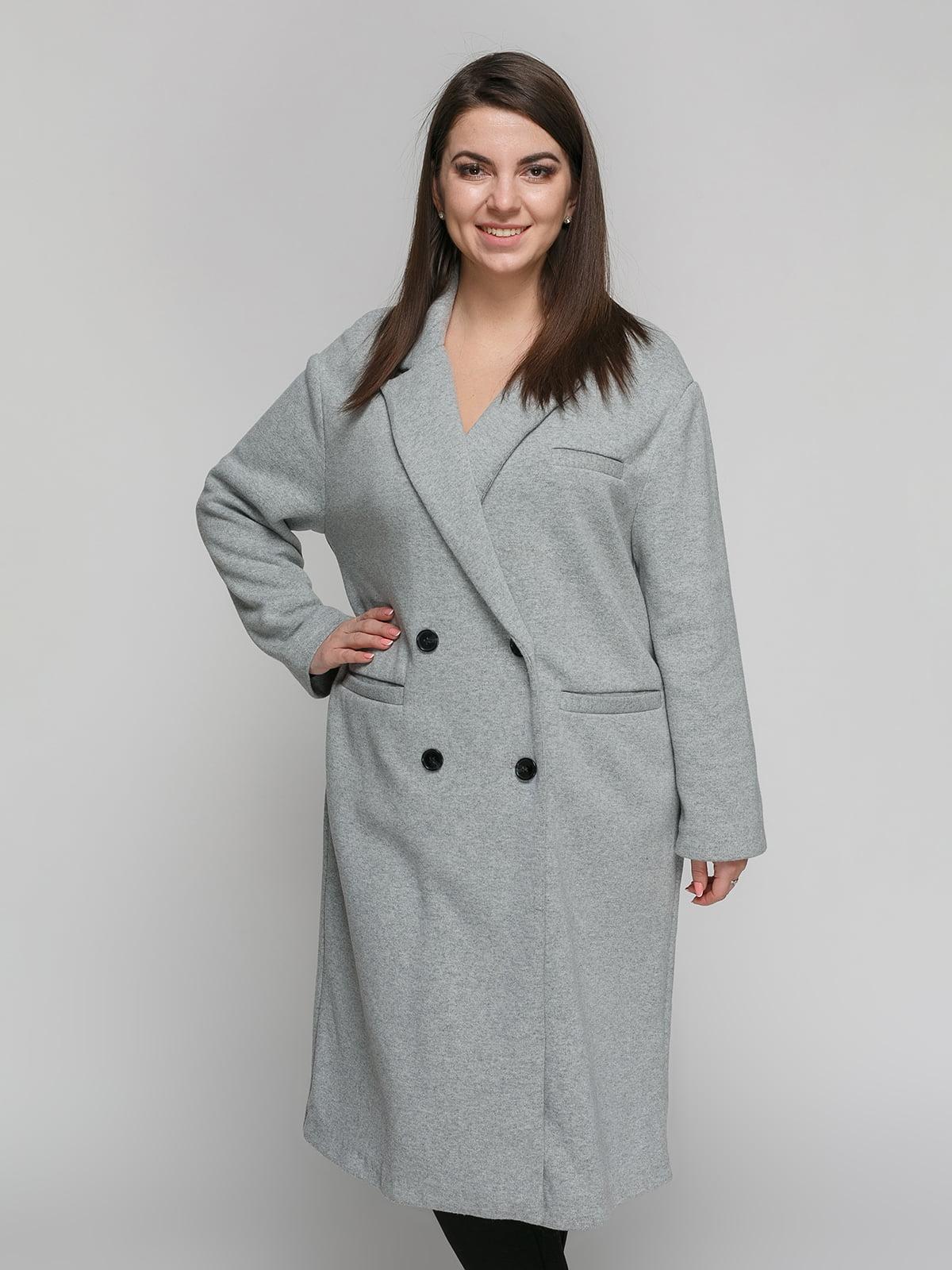 Пальто серое | 4875840