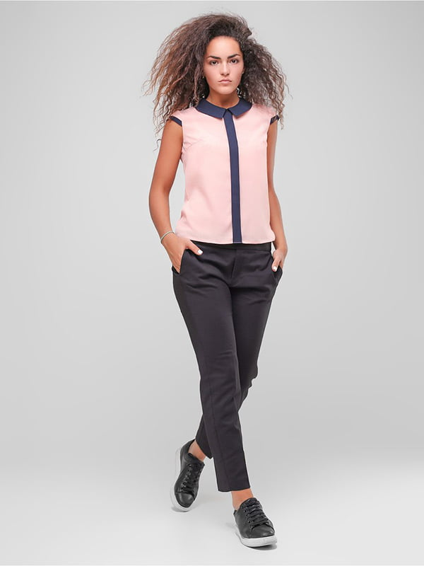 Блуза персикового цвета | 4907591 | фото 2