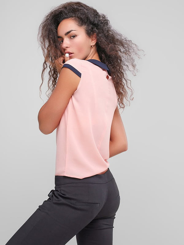 Блуза персикового цвета | 4907591 | фото 3