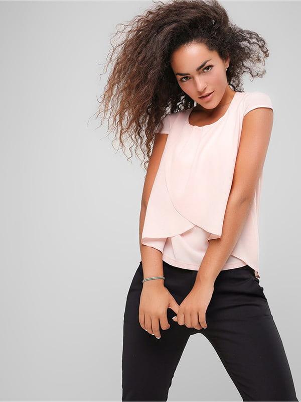 Блуза персикового кольору | 4907593