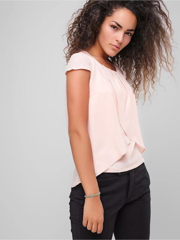 Блуза персикового кольору | 4907593 | фото 3