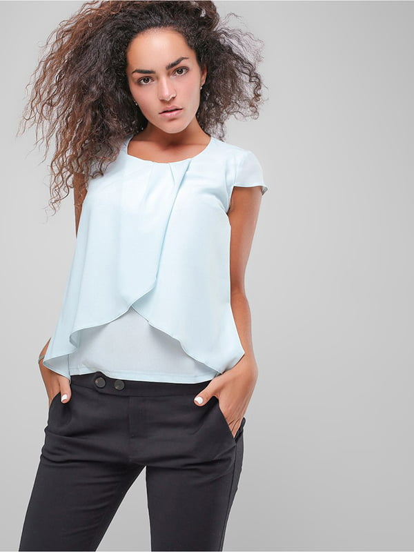 Блуза блакитна   4907595