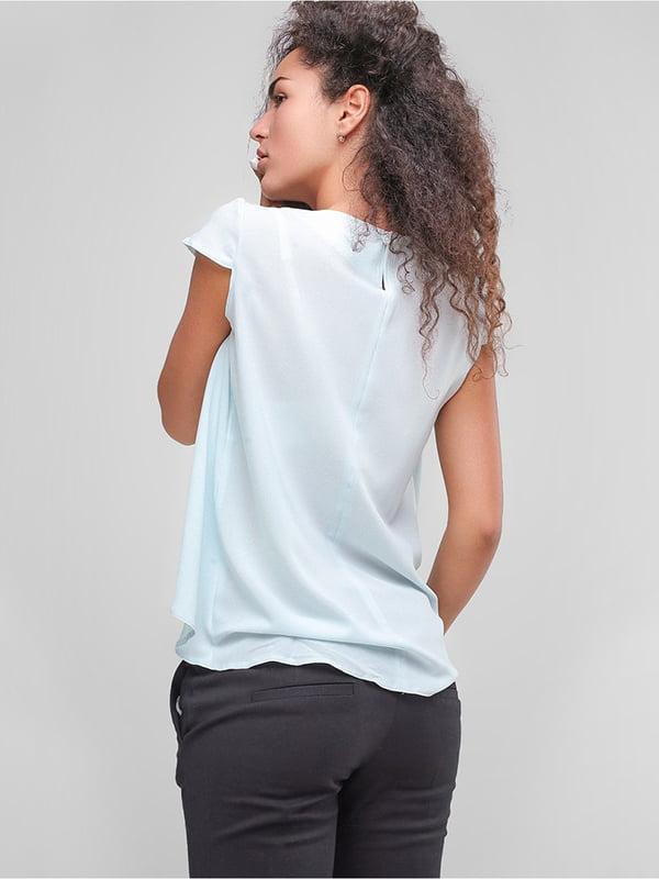 Блуза блакитна   4907595   фото 2