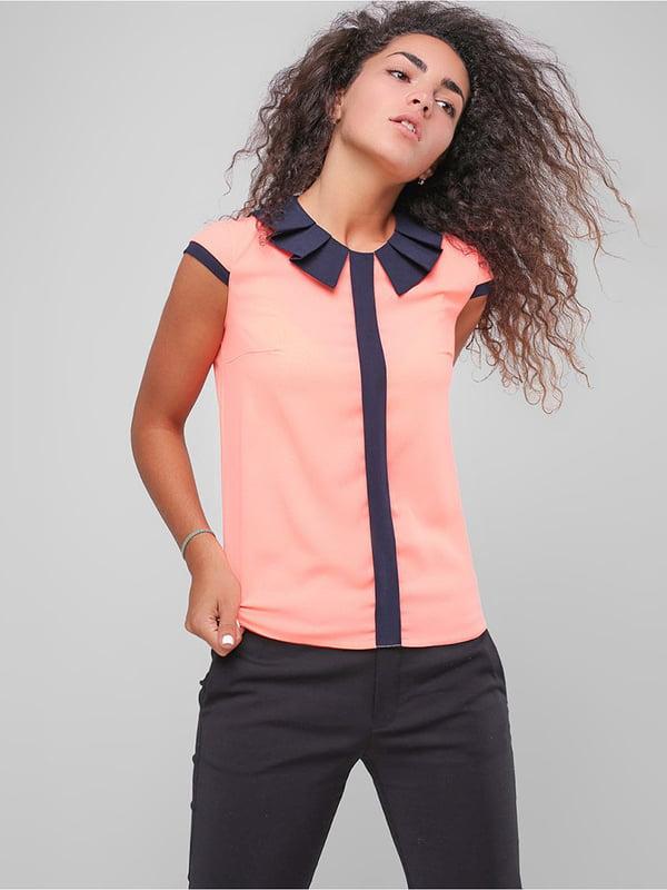 Блуза коралова   4907597