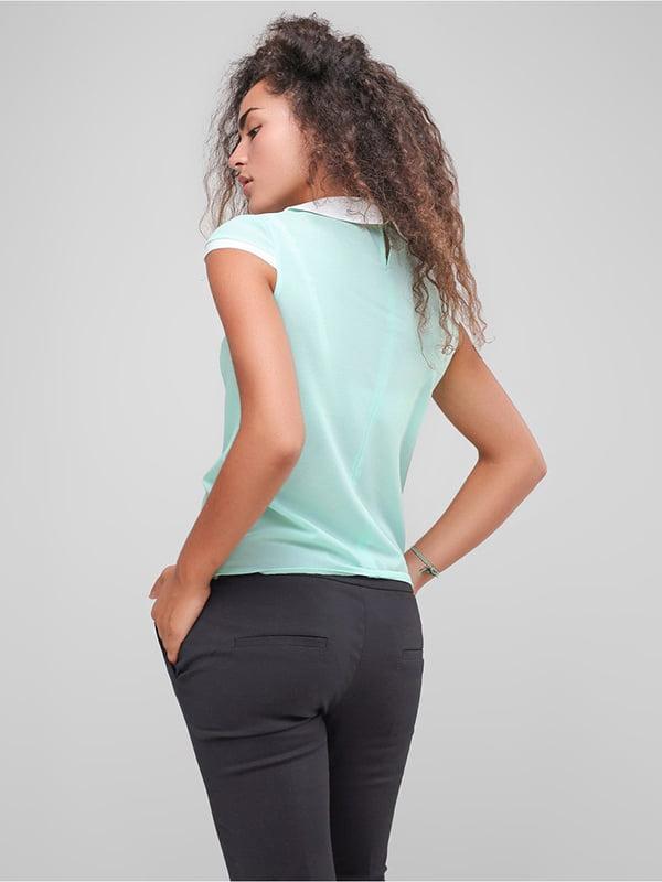 Блуза м'ятного кольору | 4907601 | фото 2