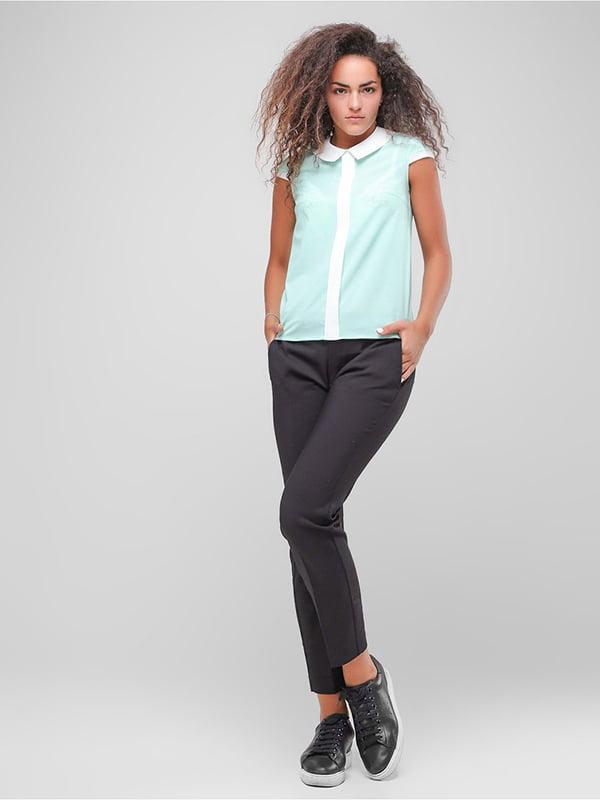 Блуза м'ятного кольору | 4907601 | фото 3