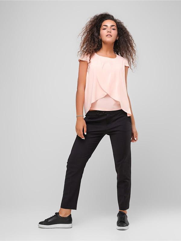 Блуза персикового цвета | 4907602