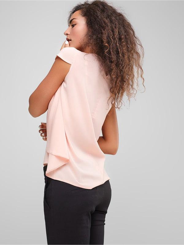 Блуза персикового цвета | 4907602 | фото 3