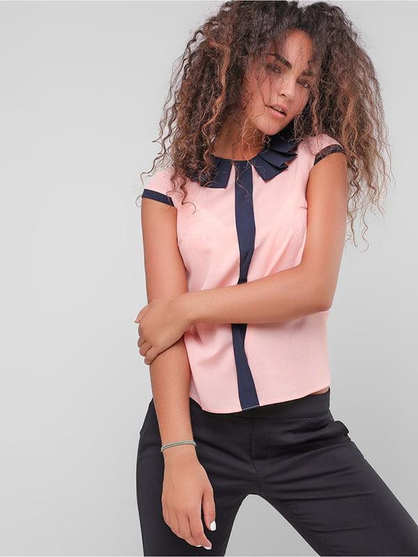Блуза персикового цвета | 4907603