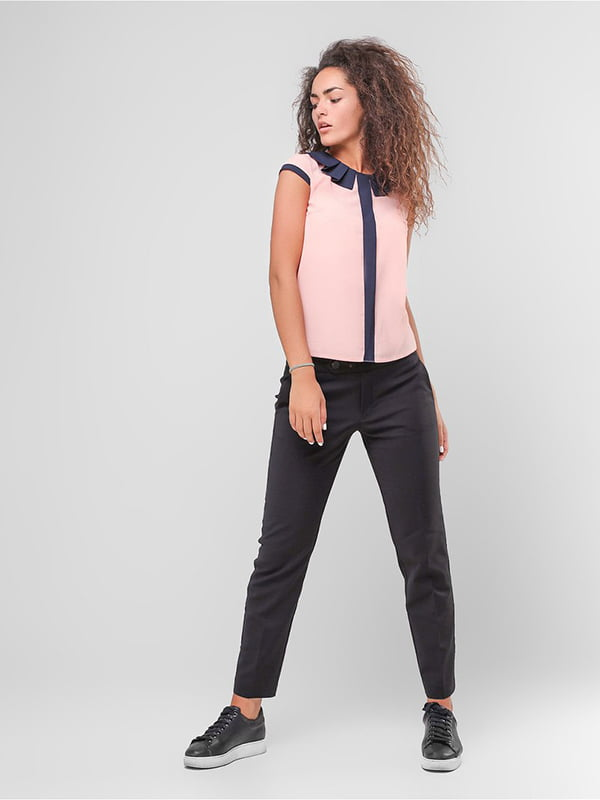 Блуза персикового цвета | 4907603 | фото 3