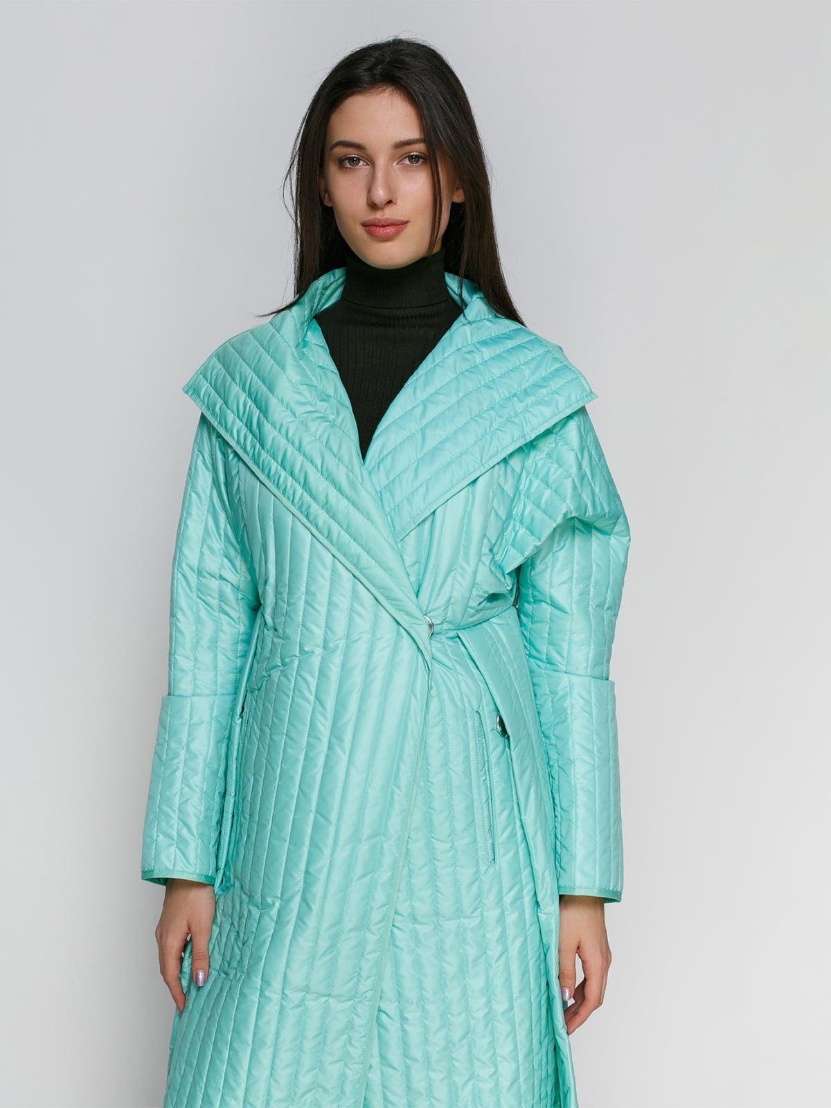 Пальто мятного цвета | 4705107