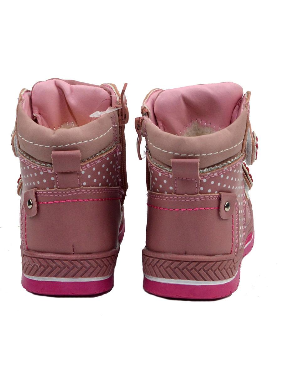 Черевики рожеві в горошок | 3998240 | фото 3