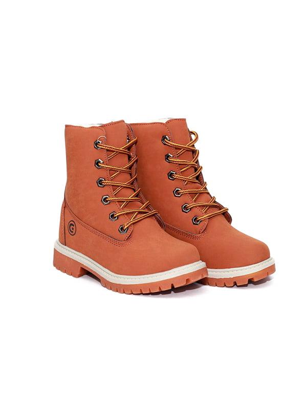 Ботинки рыжего цвета | 4908464