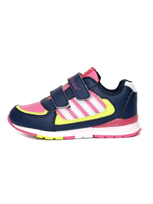 Кросівки синьо-рожеві   4908848   фото 2