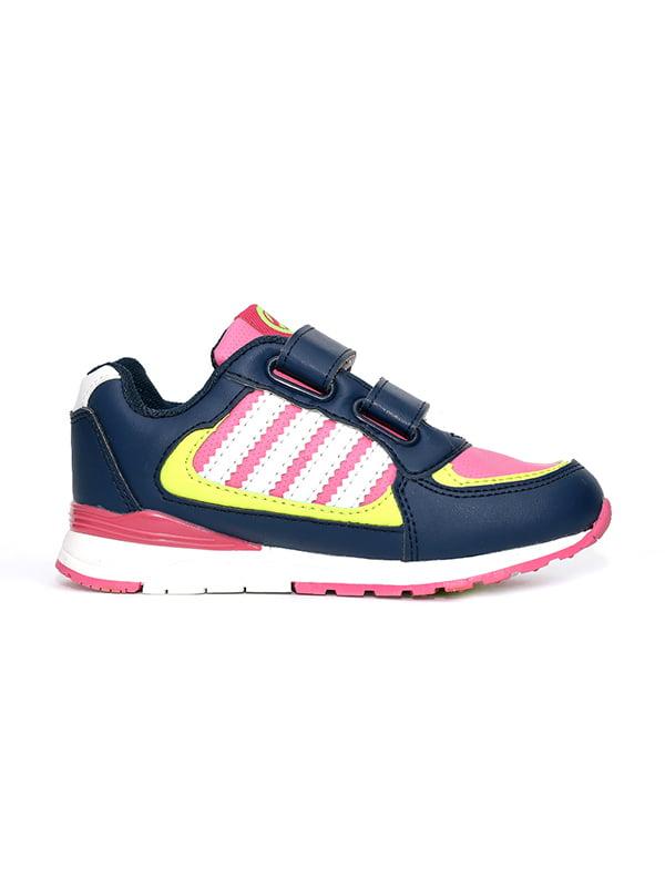 Кросівки синьо-рожеві   4908848   фото 3