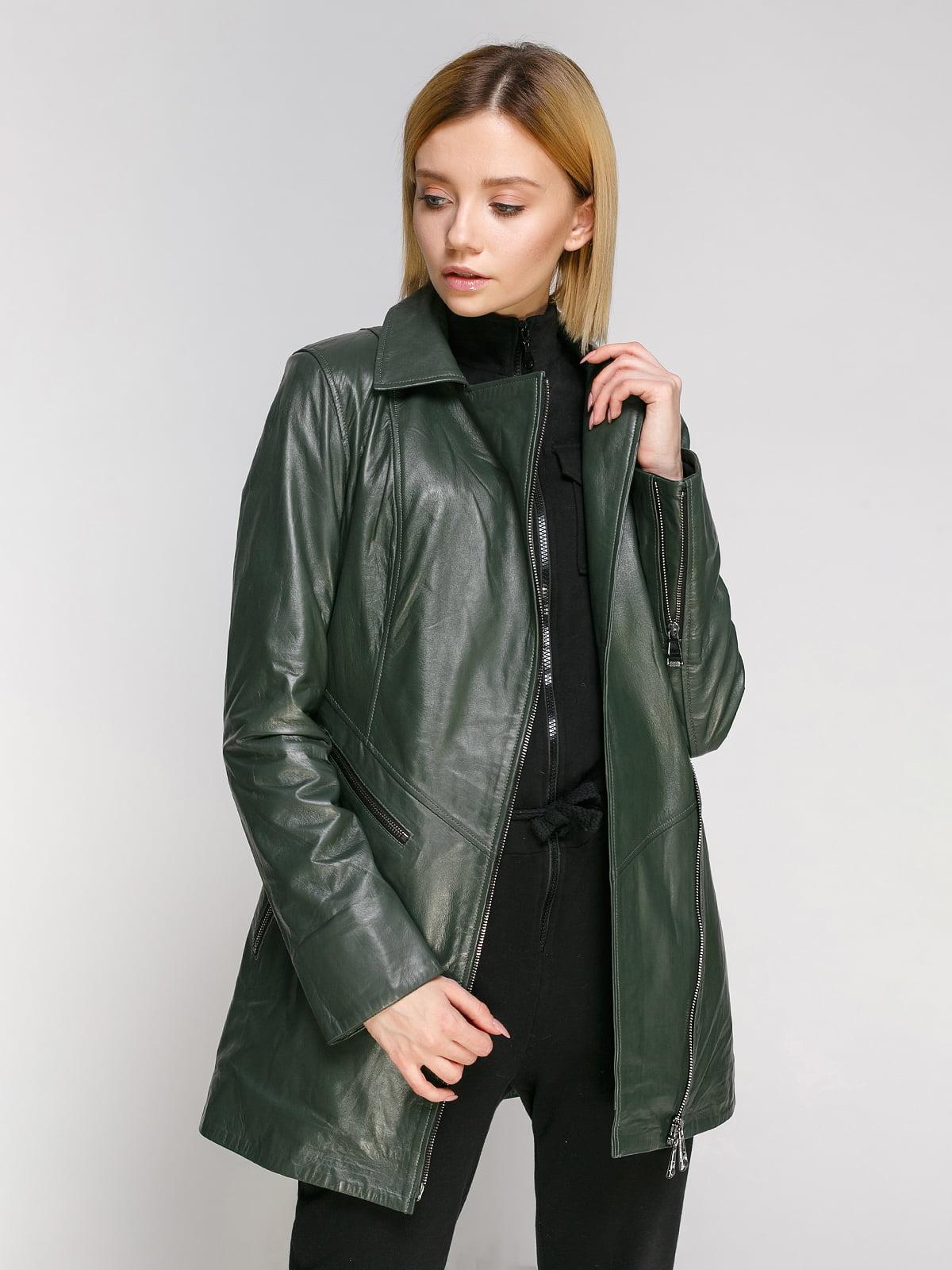 Куртка зеленая   4906715