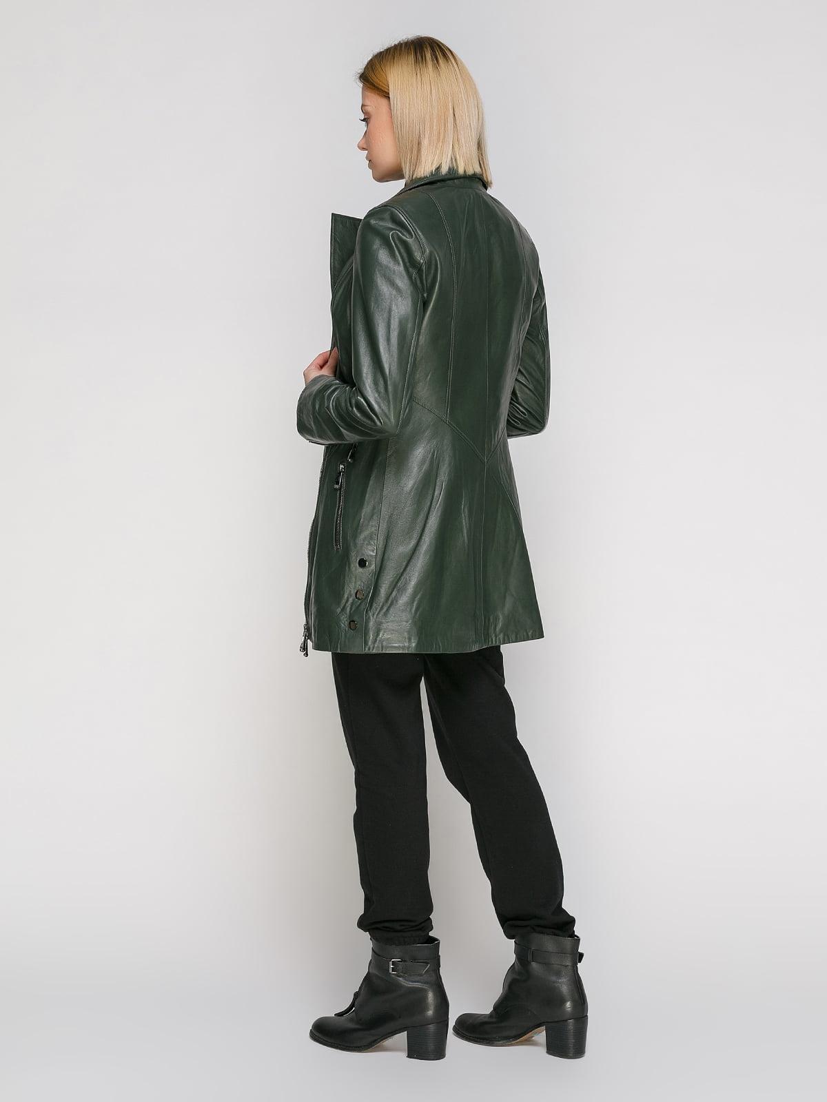 Куртка зеленая   4906715   фото 3