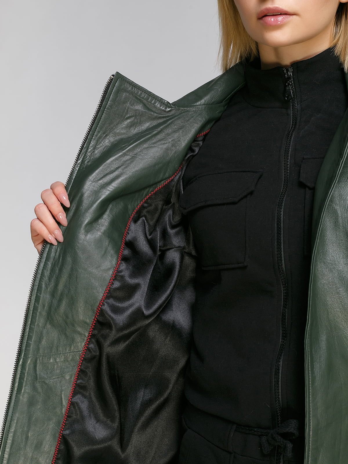 Куртка зеленая   4906715   фото 4