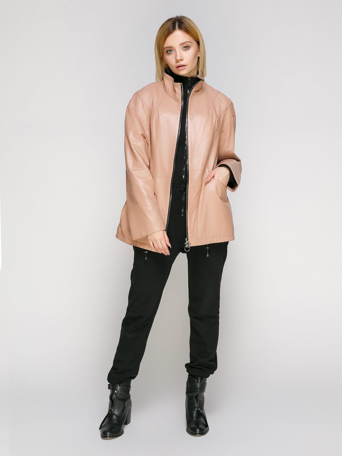 Куртка кольору пудри   4906714   фото 2