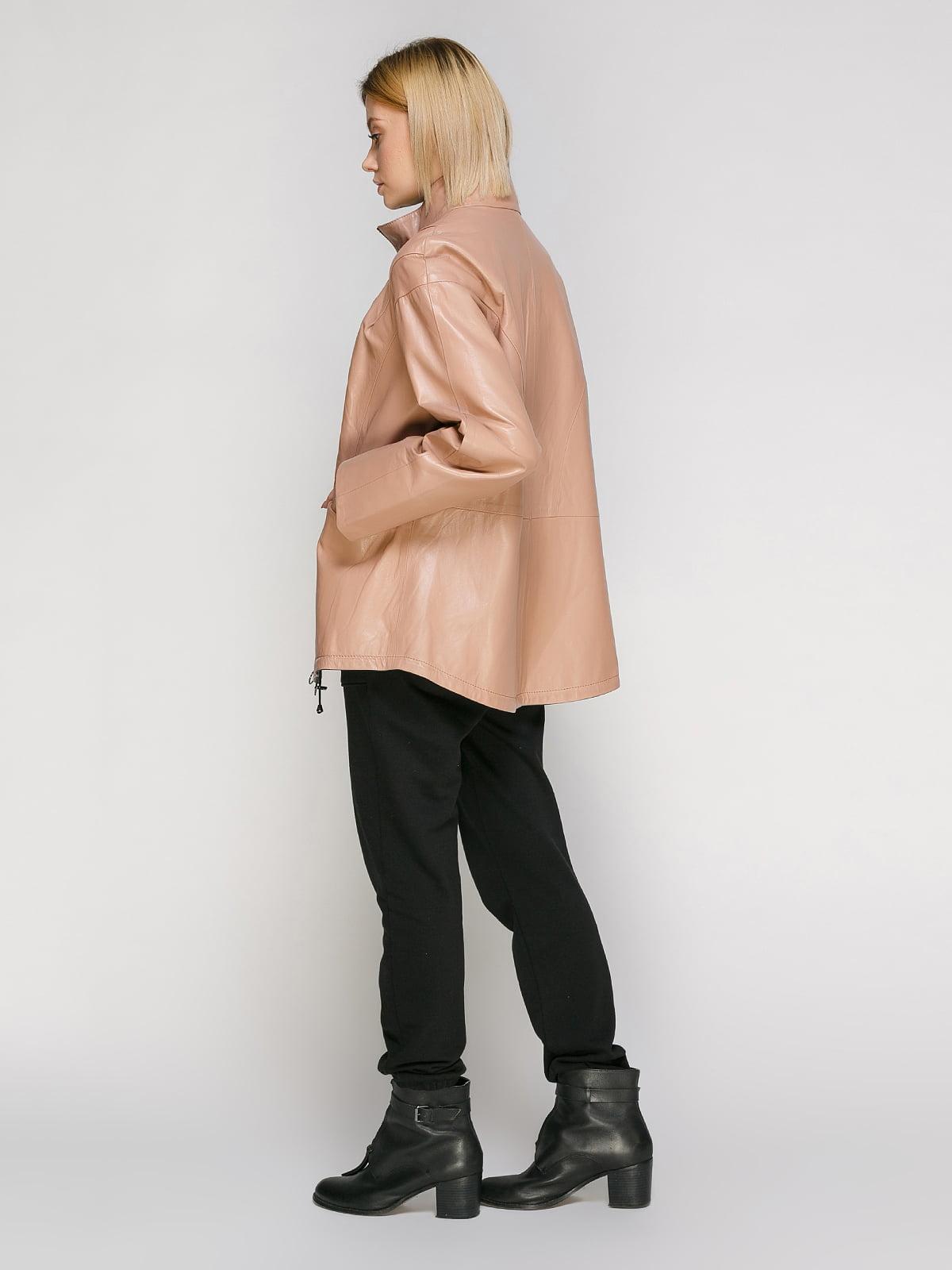 Куртка кольору пудри   4906714   фото 3