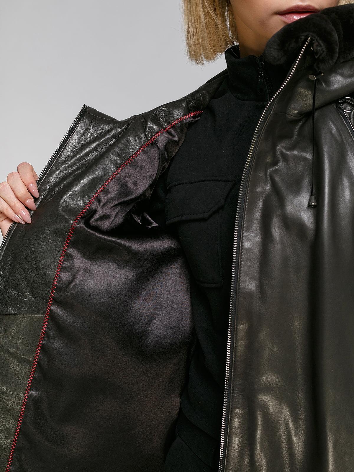 Куртка коричнева   4906709   фото 4