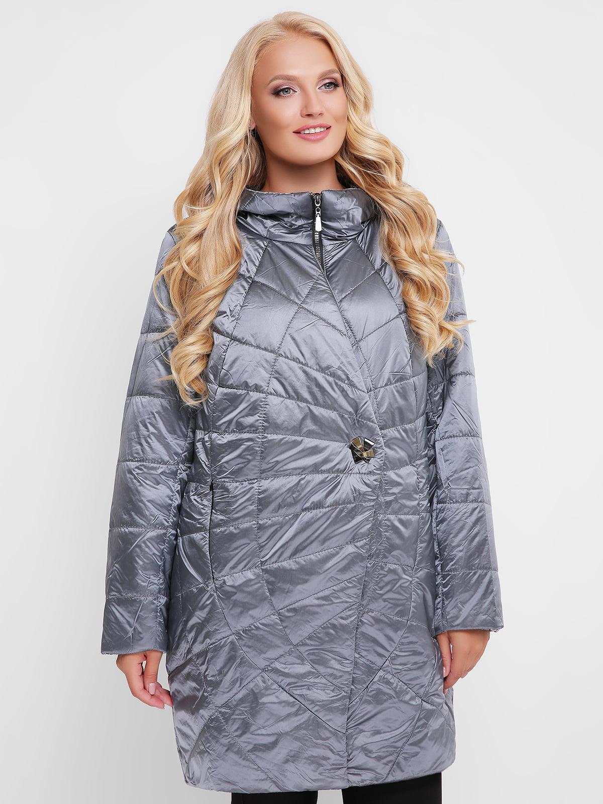 Куртка сіро-синя | 4908245