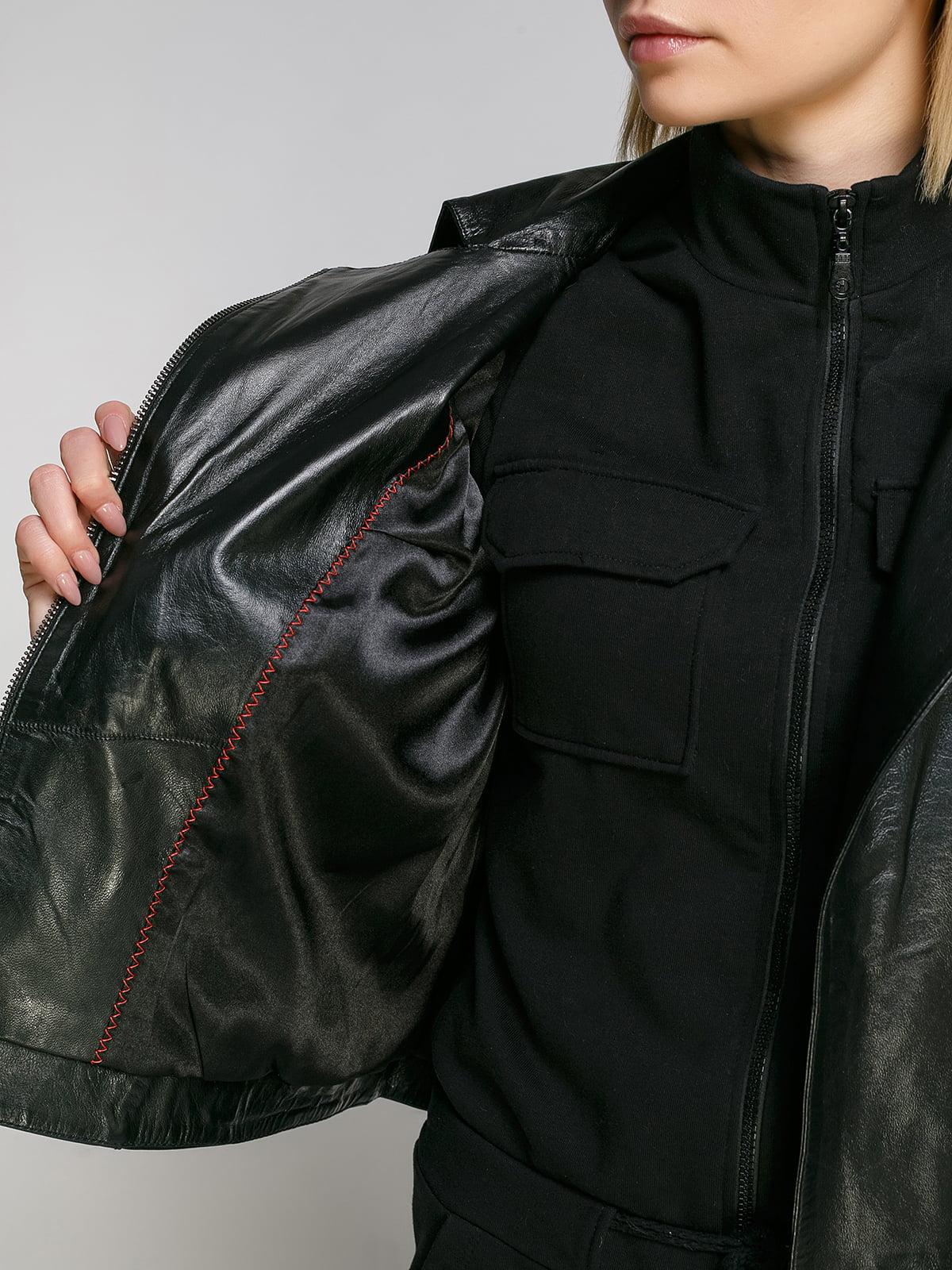 Куртка чорна | 4906723 | фото 4