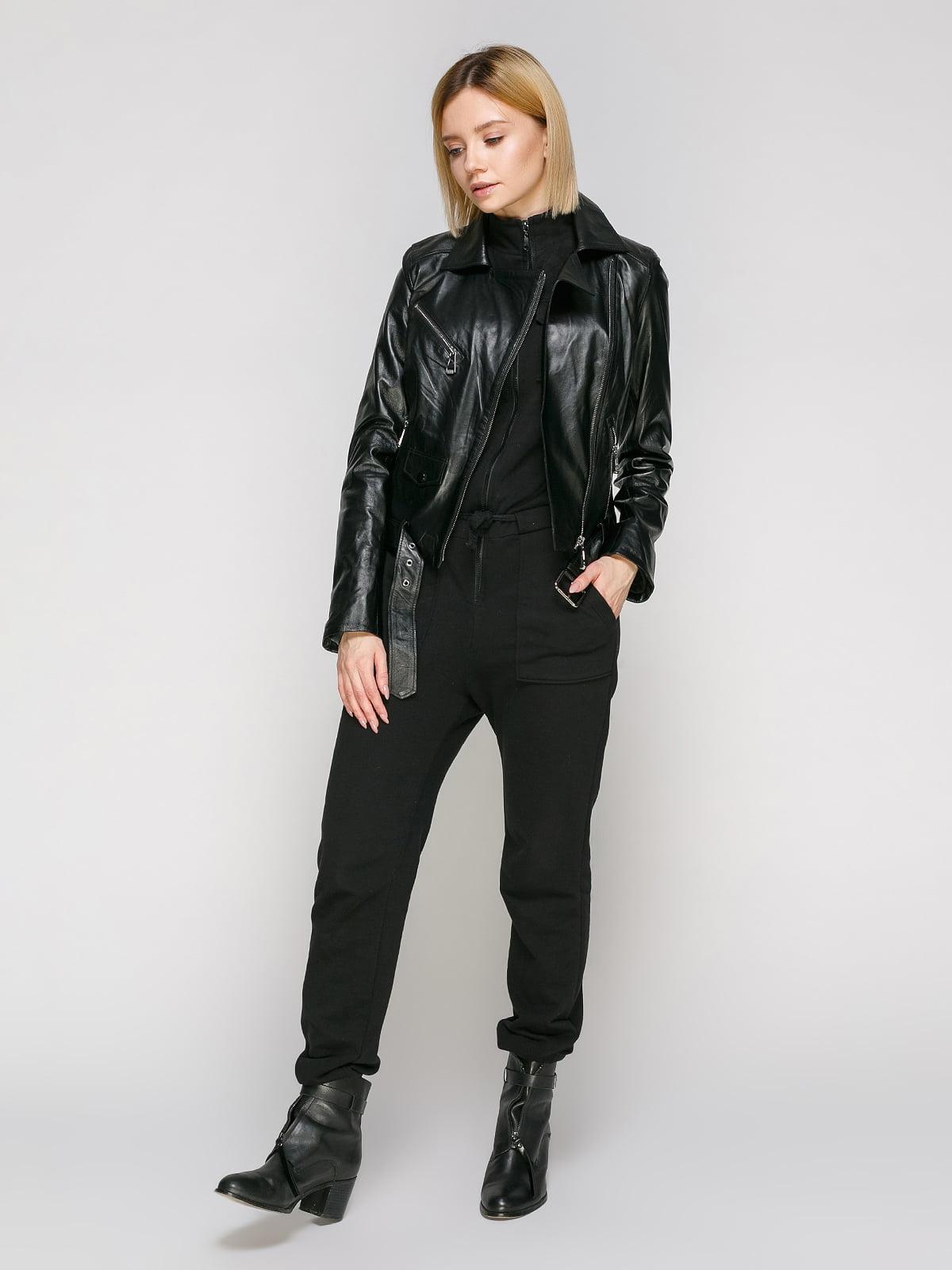 Куртка чорна   4906720   фото 2
