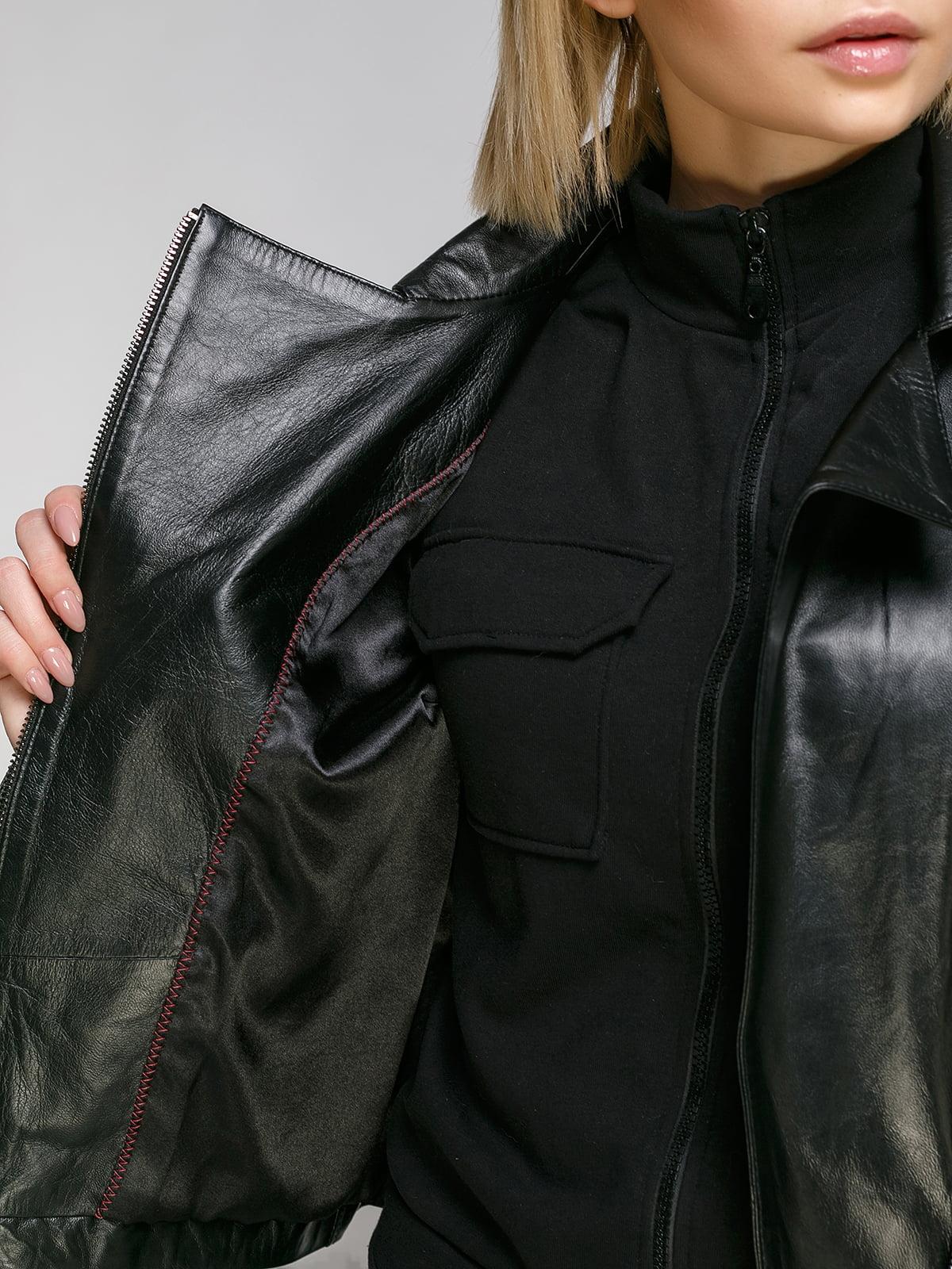 Куртка чорна   4906720   фото 4