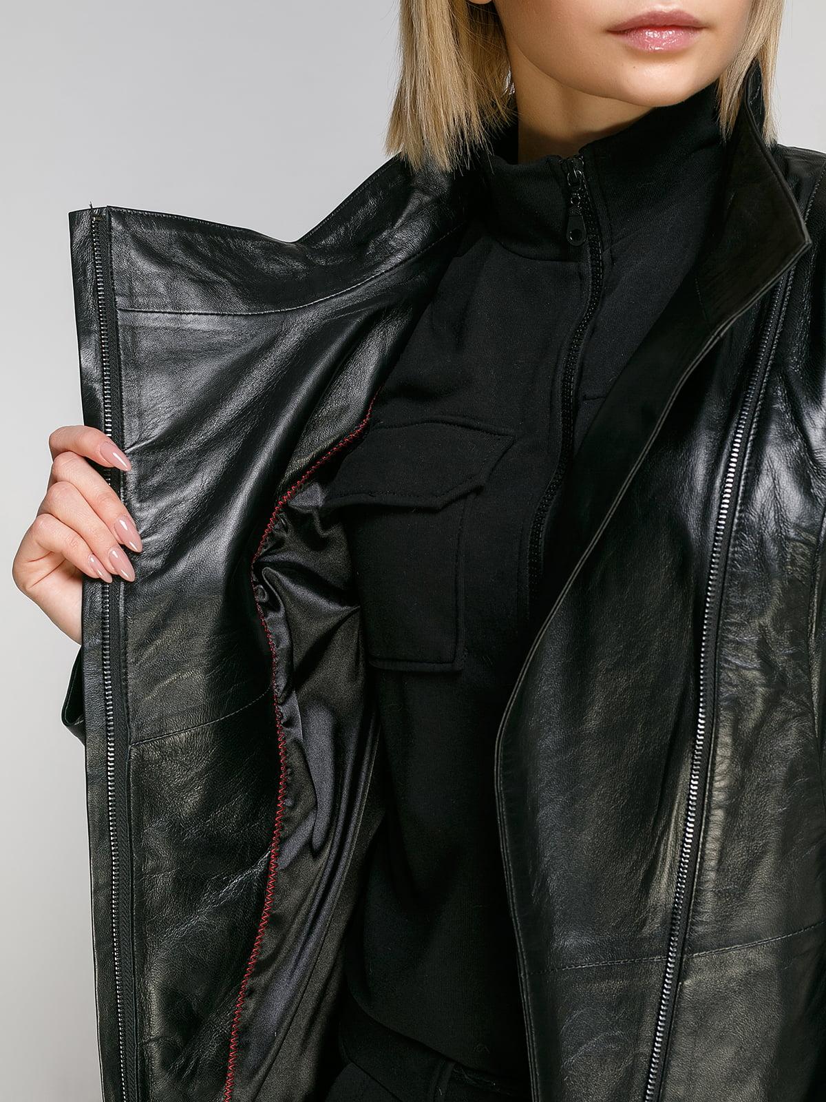 Куртка чорна | 4906730 | фото 4