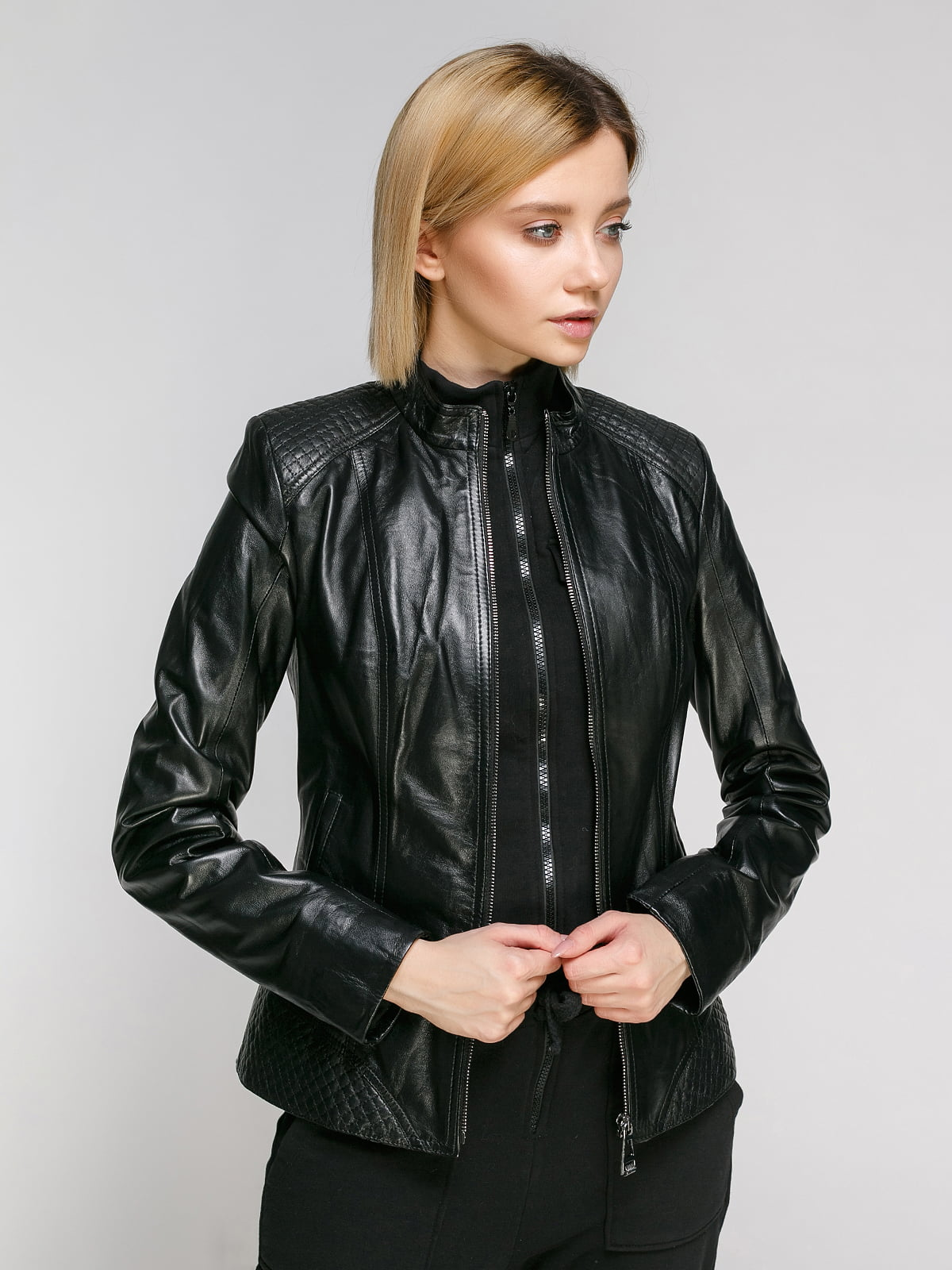 Куртка чорна | 4906725