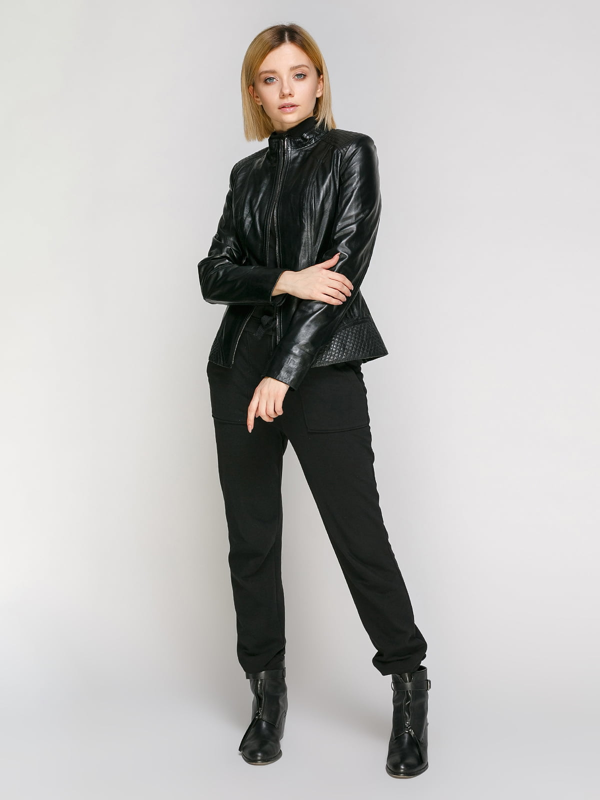 Куртка чорна | 4906725 | фото 2