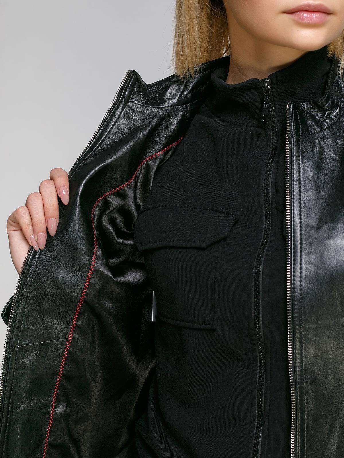 Куртка чорна | 4906725 | фото 4