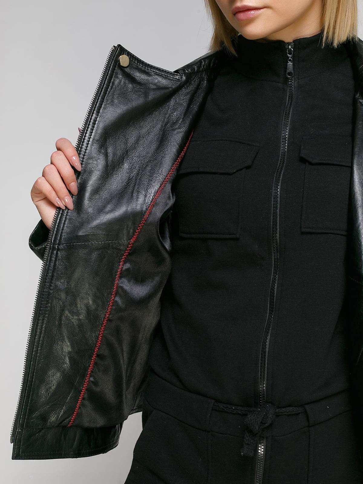 Куртка чорна | 4906729 | фото 4