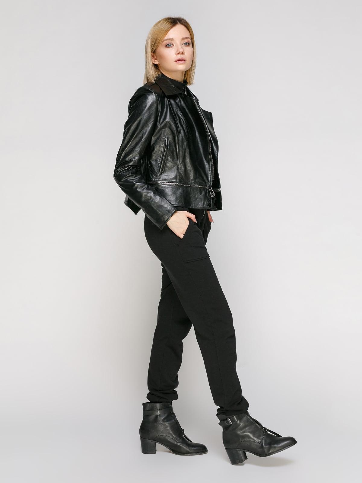 Куртка чорна   4906724   фото 2