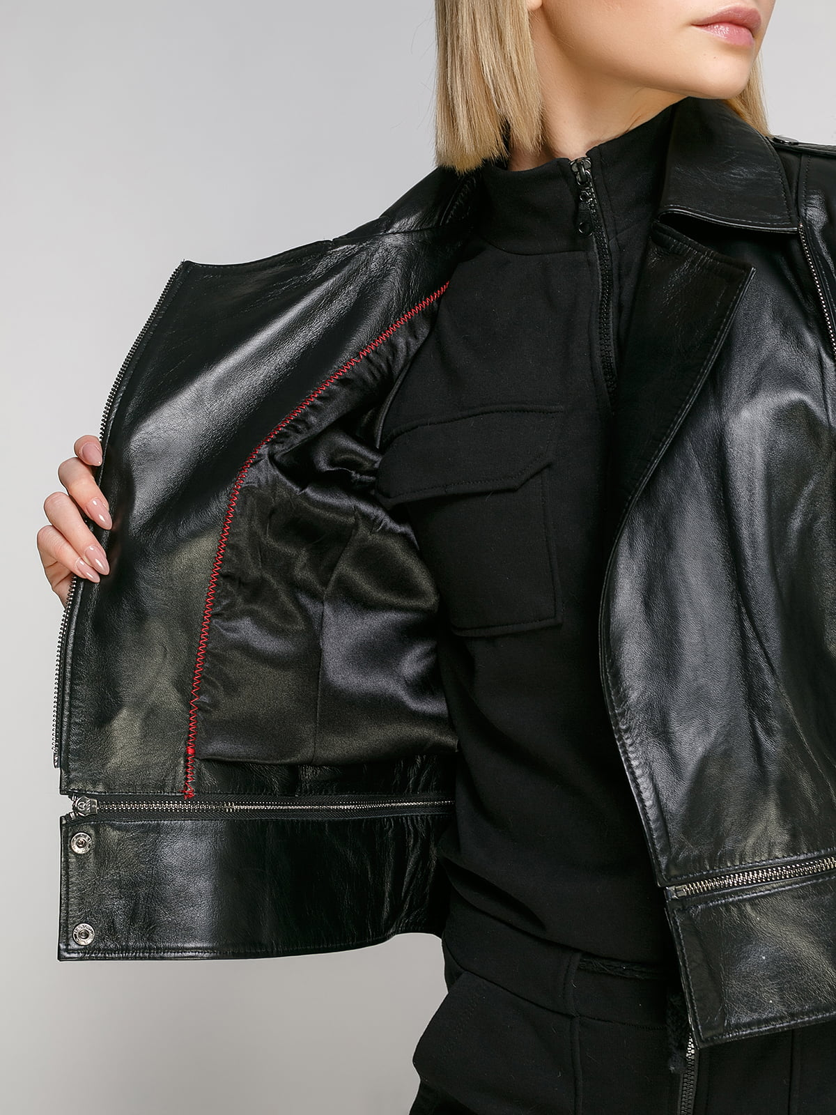 Куртка чорна   4906724   фото 4