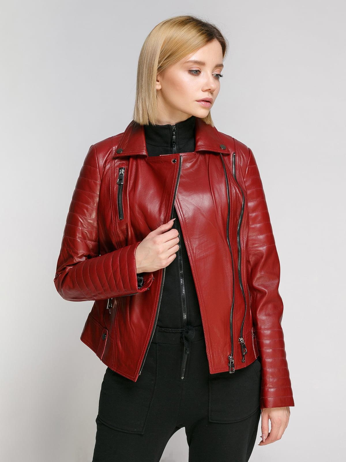 Куртка бордова | 4906726
