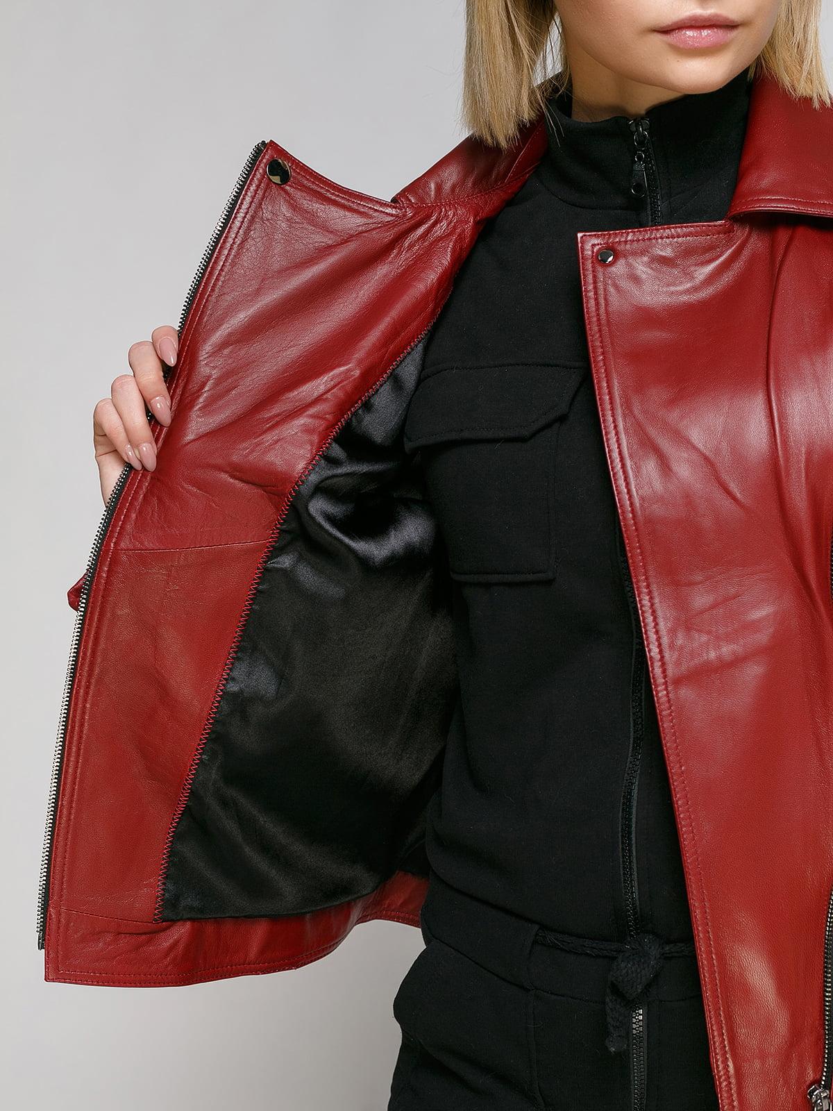 Куртка бордова | 4906726 | фото 4