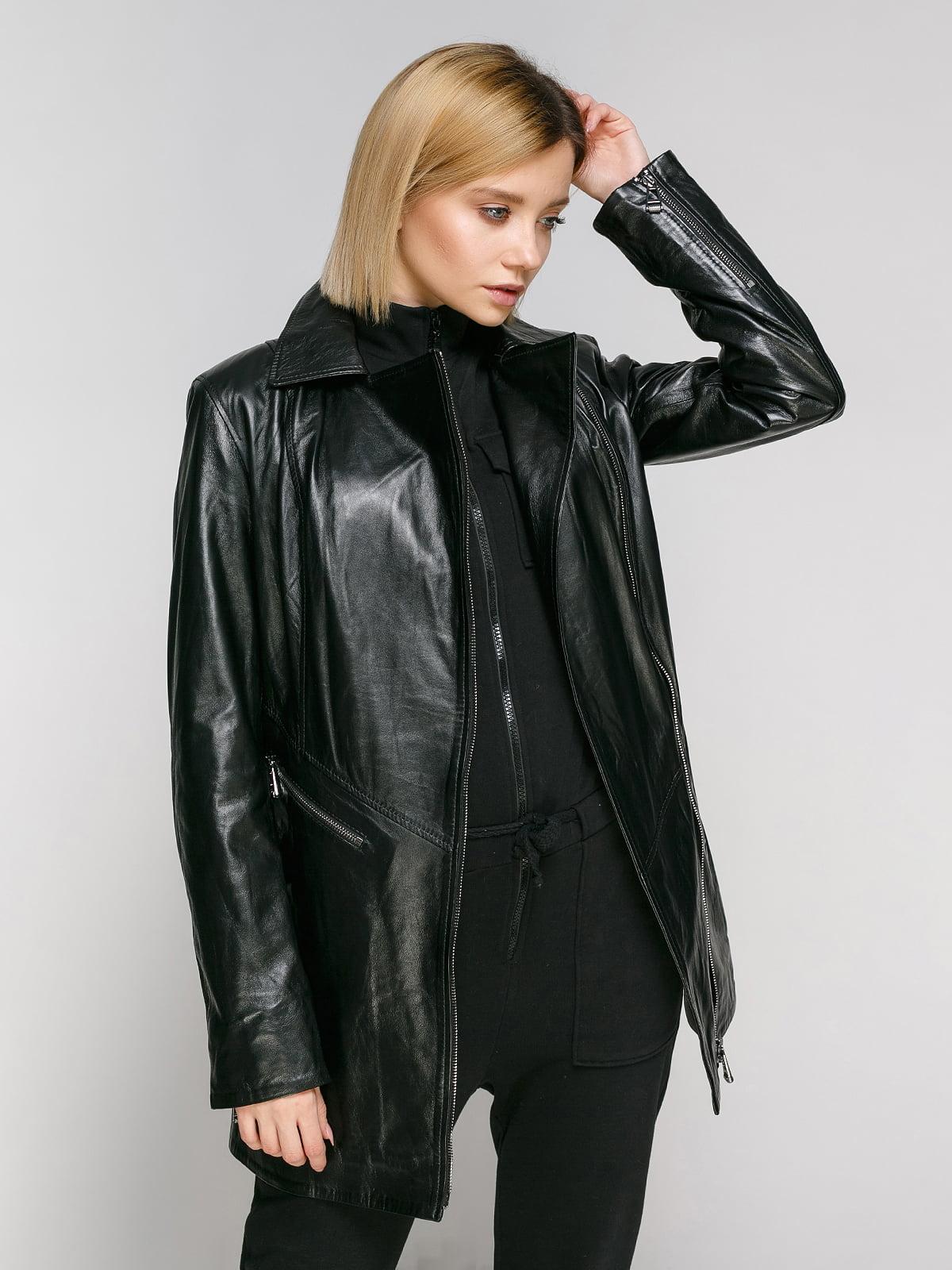 Куртка чорна | 4906713
