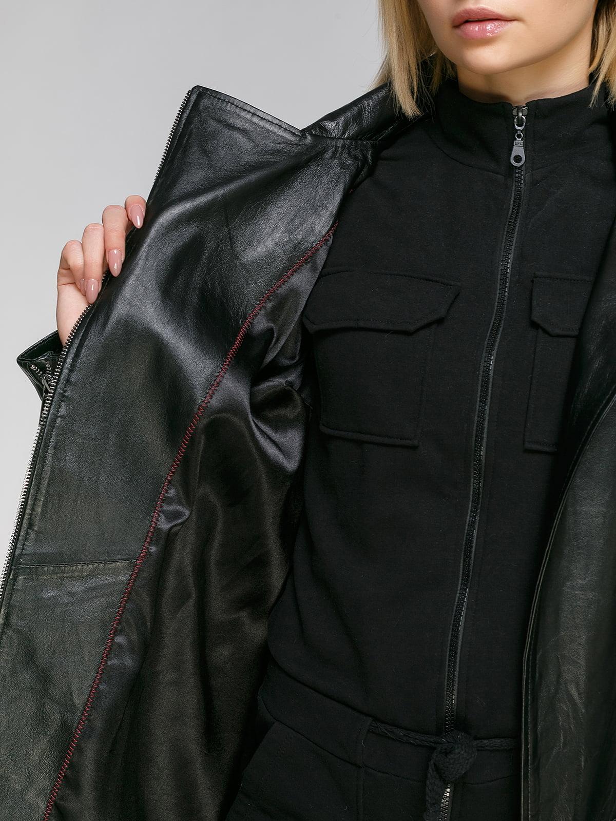 Куртка чорна | 4906713 | фото 4