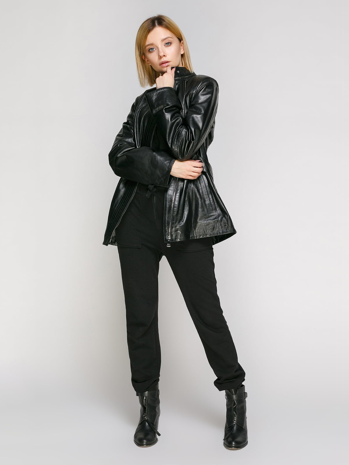 Куртка чорна | 4906717 | фото 2