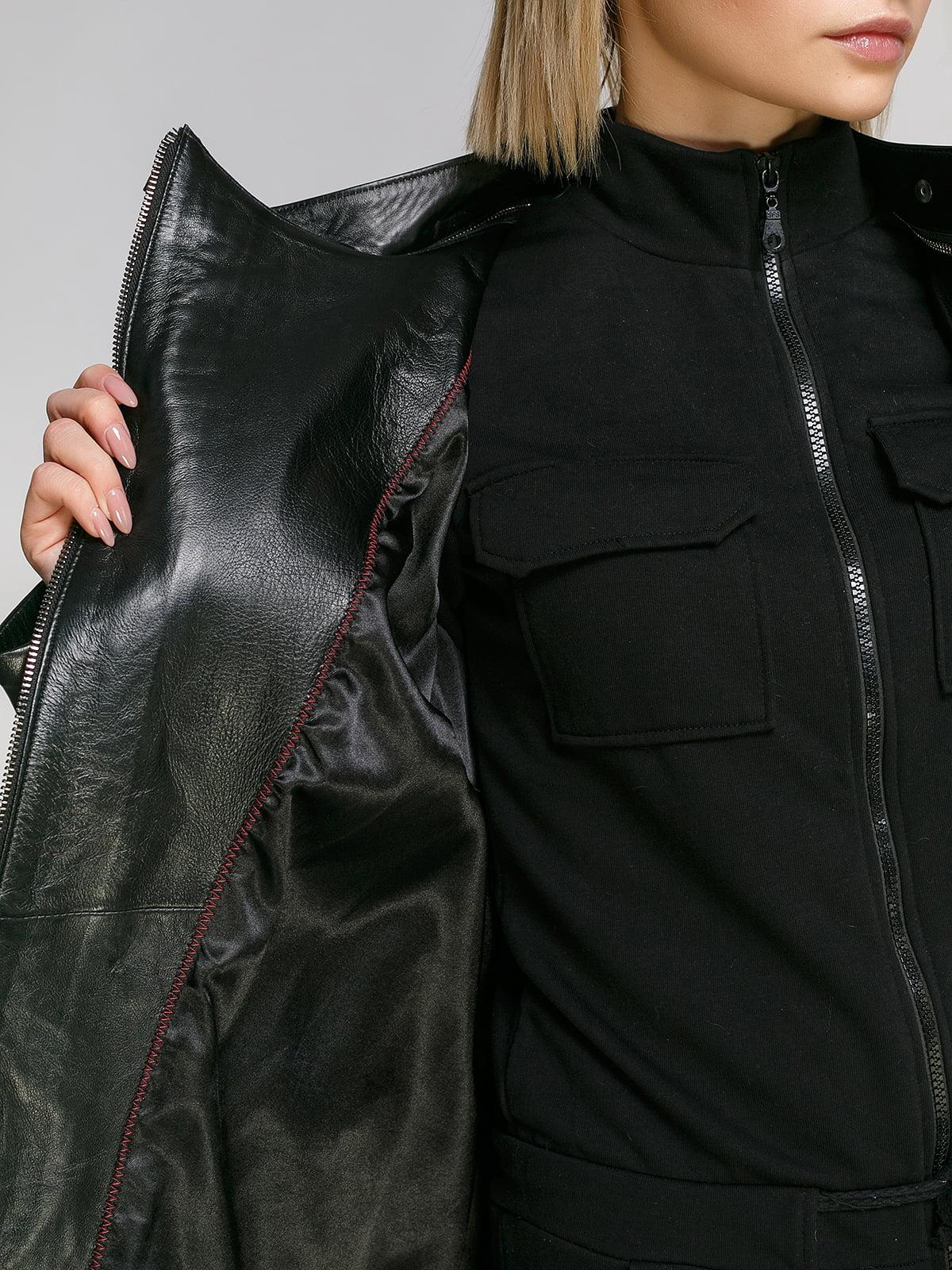 Куртка чорна | 4906717 | фото 4