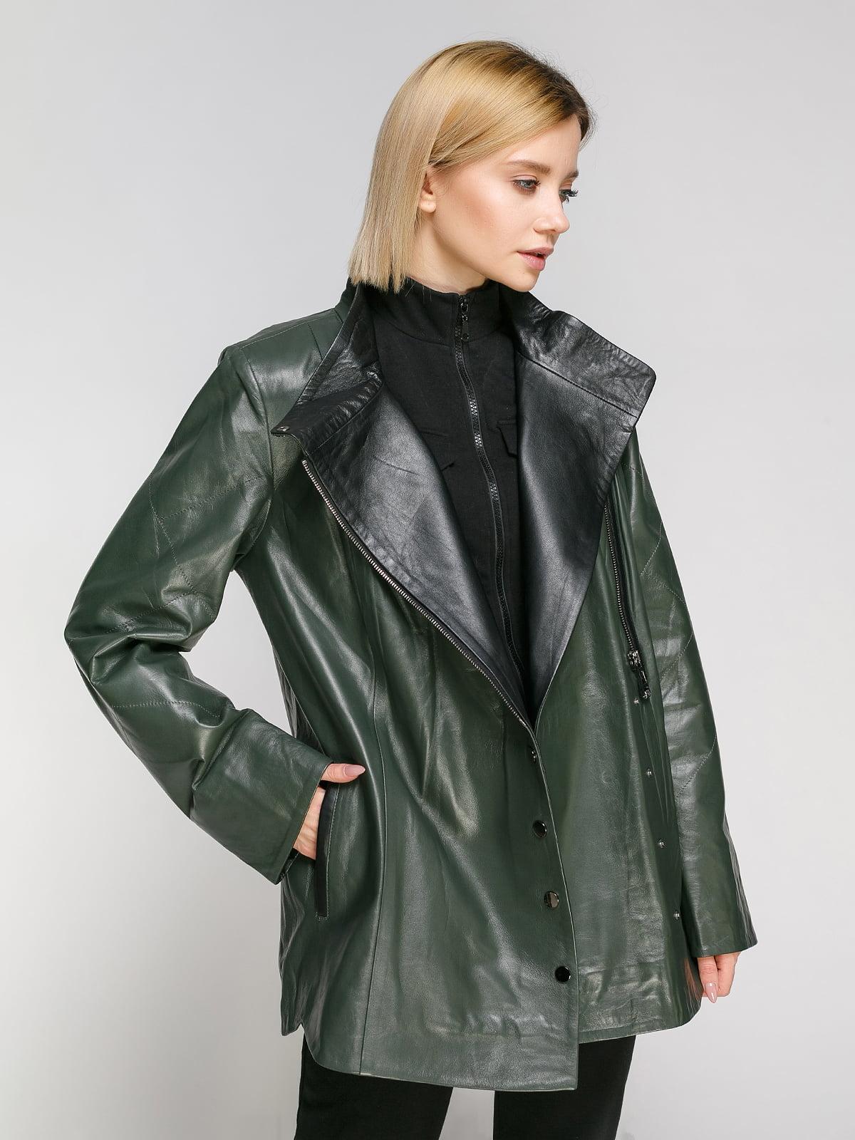 Куртка зеленая | 4906716