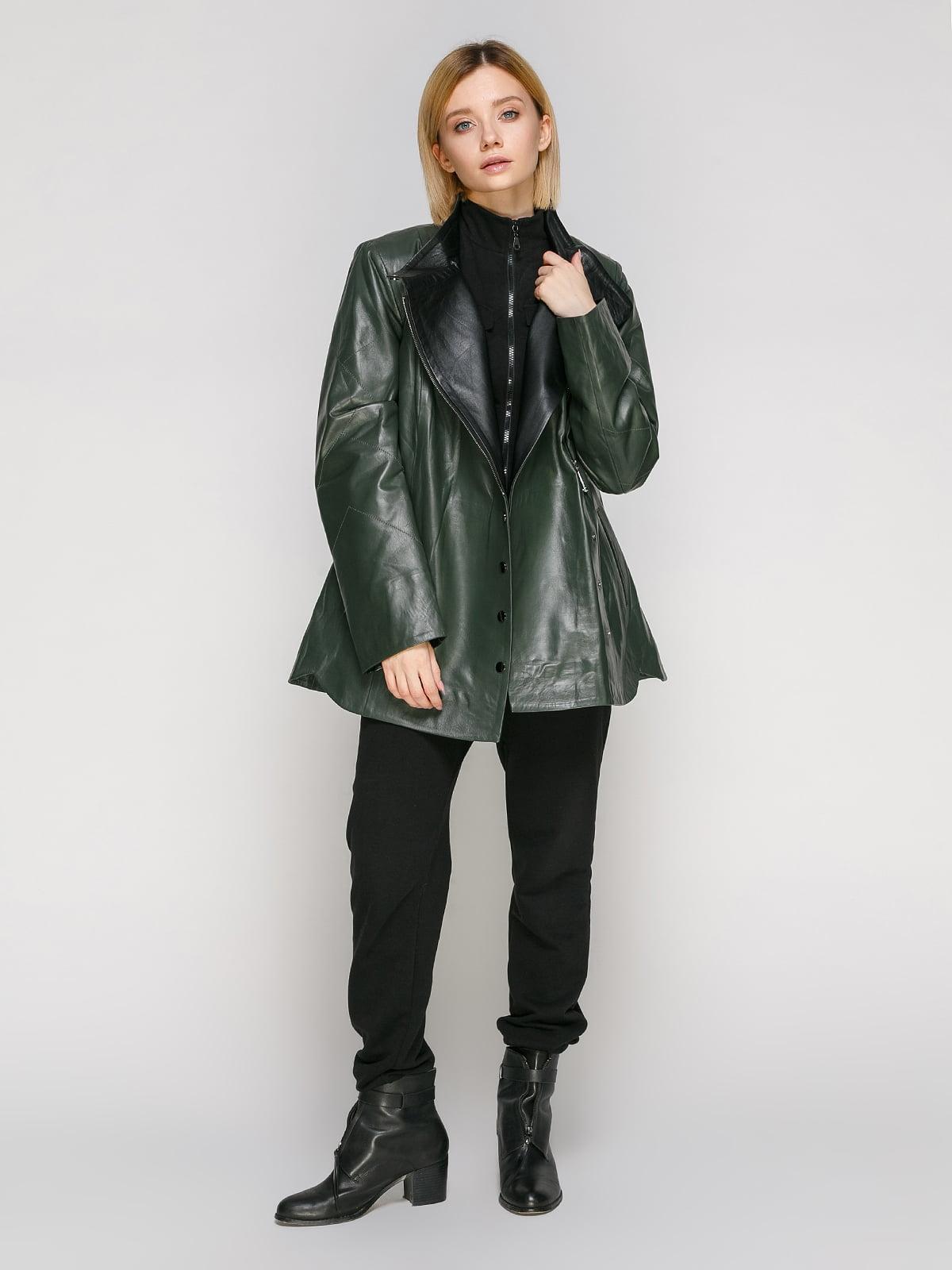 Куртка зеленая | 4906716 | фото 2