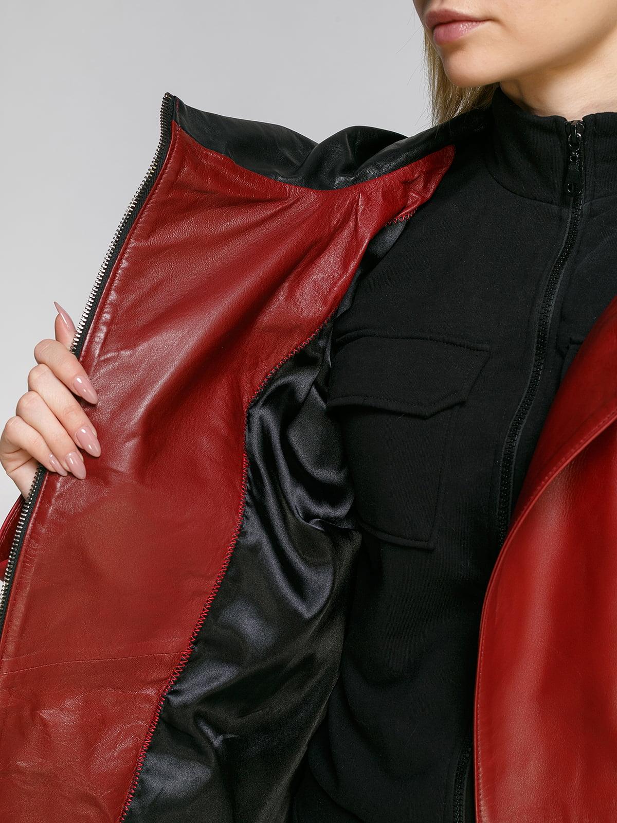 Куртка бордова   4906718   фото 4