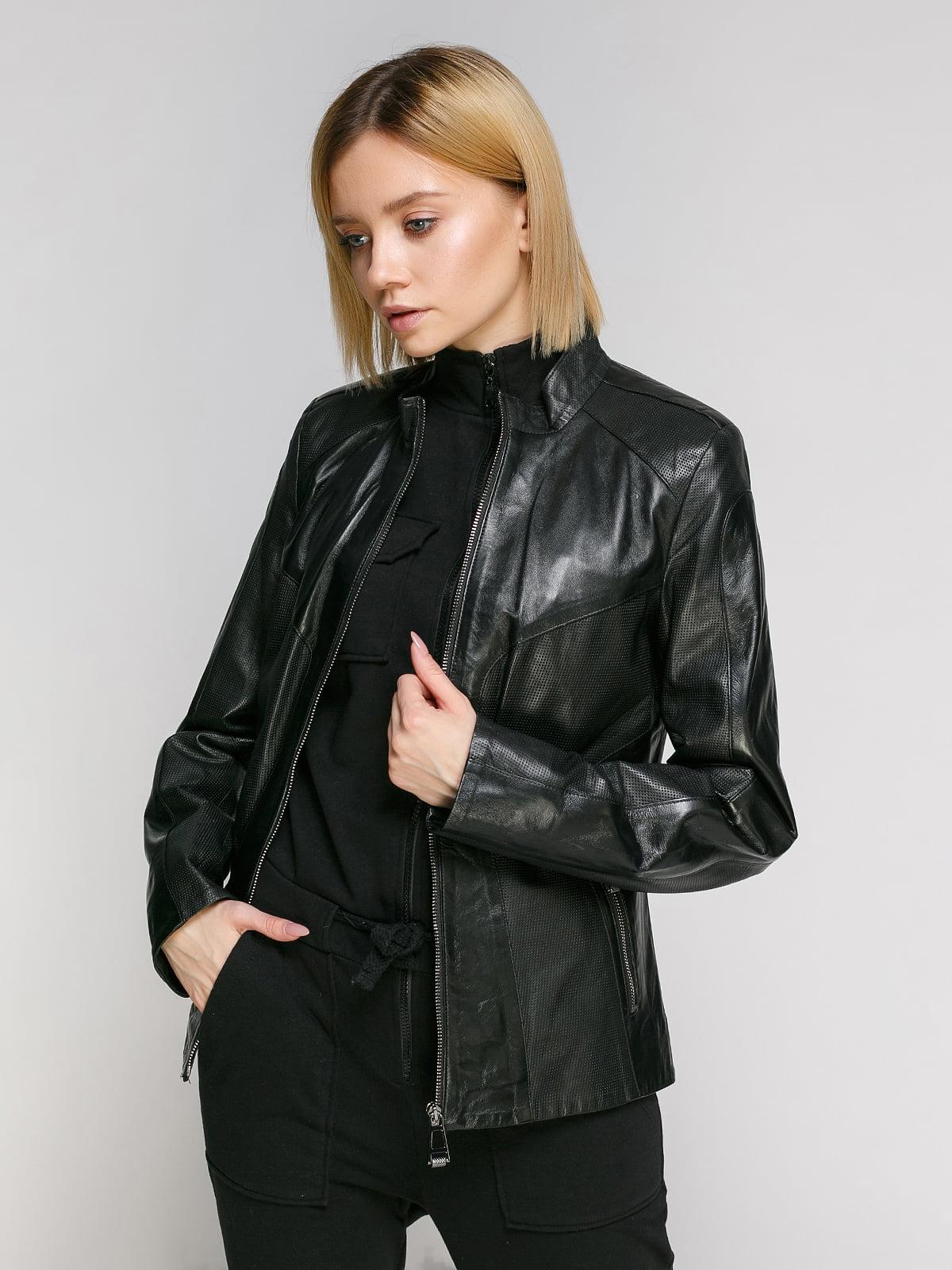 Куртка чорна | 4906719